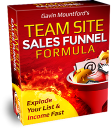 Team Site Sales Funnel Formula